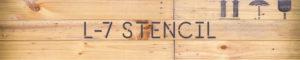 Tipografía L-7 Stencil