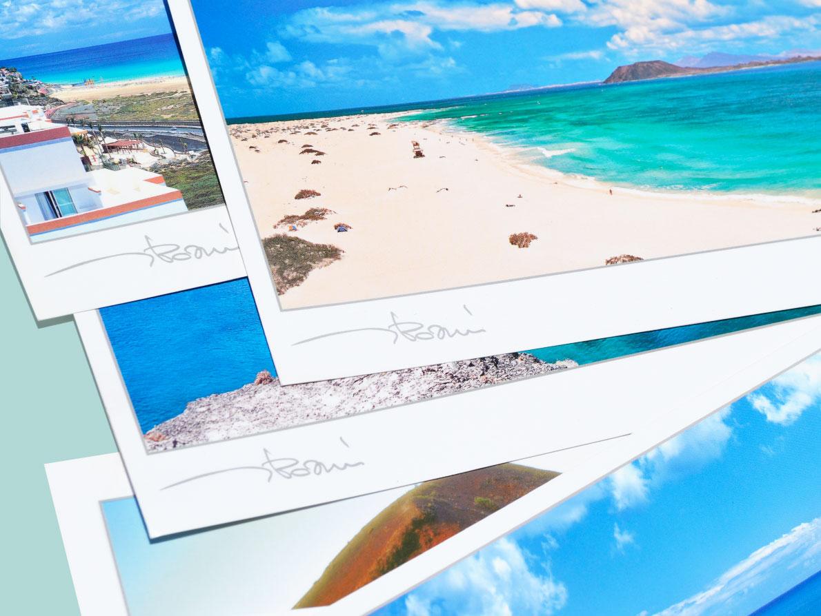 Postales panorámicas de Fuerteventura